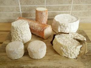 quesos de cabra