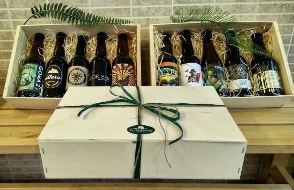 caja cervezas